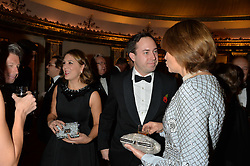 Left to right, JAMIE & LOTTIE MURRAY-WELLS and LADY CAROLYN WARREN at the 26th Cartier Racing Awards held at The Dorchester, Park Lane, London on 8th November 2016.