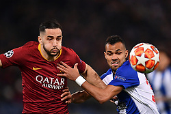 12.02.2019, Stadio Olimpico, Rom, ITA, UEFA CL, AS Roma vs FC Porto, Achtelfinale, Hinspiel, im Bild manolas e fernando, manolas and fernando during the UEFA Champions League round of 16, 1st leg match between AS Roma and FC Porto at the Stadio Olimpico in Rom, Italy on 2019/02/12. EXPA Pictures © 2019, PhotoCredit: EXPA/ laPresse/ Alfredo Falcone<br /> ALFREDO<br /> <br /> *****ATTENTION - for AUT, SUI, CRO, SLO only*****