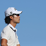 Kevin Na, USA, in action during the fourth round of theThe Barclays Golf Tournament at The Ridgewood Country Club, Paramus, New Jersey, USA. 24th August 2014. Photo Tim Clayton