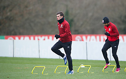 CARDIFF, WALES - Sunday, March 24, 2013: Wales' Gareth Bale during a training session at the Vale of Glamorgan ahead of the 2014 FIFA World Cup Brazil Qualifying Group A match against Croatia. (Pic by David Rawcliffe/Propaganda)