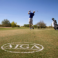 American Junior Golf Association player Grayson Murray at the Thunderbird International Junior tournament.