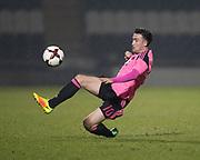 Scotland's Stephen Mallan - Scotland under 21s v Estonia international challenge match at St Mirren Park, St Mirren. Pic David Young<br />  <br /> - © David Young - www.davidyoungphoto.co.uk - email: davidyoungphoto@gmail.com
