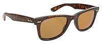 ray ban brown plastic sunglasses