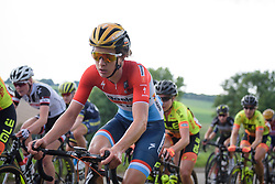Christine Majerus at Boels Rental Ladies Tour Stage 5 a 141.8 km road race from Stamproy to Vaals, Netherlands on September 2, 2017. (Photo by Sean Robinson/Velofocus)