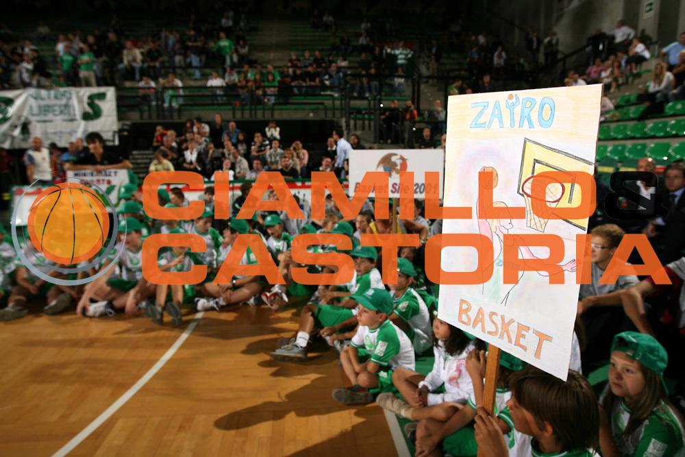 DESCRIZIONE : Treviso Lega A1 2007-08 Memorial Bortoletto Benetton Treviso Cska Mosca <br /> GIOCATORE : Minibasket<br /> SQUADRA : Benetton Treviso <br /> EVENTO : Campionato Lega A1 2007-2008 <br /> GARA : Benetton Treviso Cska Mosca <br /> DATA : 19/09/2007 <br /> CATEGORIA : <br /> SPORT : Pallacanestro <br /> AUTORE : Agenzia Ciamillo-Castoria/M.Marchi