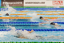Swimmers  at 2015 IPC Swimming World Championships -  Women's 400m Freestyle S9