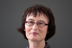 """Edinburgh, Scotland, UK; 17 August, 2018. Pictured; Fiona Sampson the poet and writer. Her new book """"In Search of Mary Shelley"""" offers a revealing insight into the author of Frankenstein."""