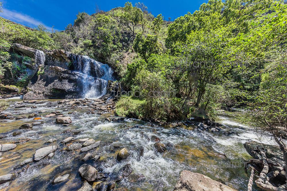 La Periquera waterfalls of Villa de Leyva Boyaca in Colombia South America