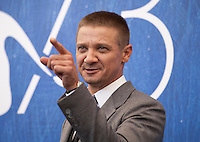 Jeremy Renner at Arrival film photocall at the 73rd Venice Film Festival, Sala Grande on Thursday September 1st 2016, Venice Lido, Italy.