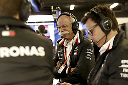 May 11, 2019 - Barcelona, Spain - Motorsports: FIA Formula One World Championship 2019, Grand Prix of Spain, ..Dr. Dieter Zetsche (GER, Chairman of the Board of Management of Daimler AG, Head of Mercedes-Benz Cars), Toto Wolff (AUT, Mercedes AMG Petronas Motorsport) (Credit Image: © Hoch Zwei via ZUMA Wire)