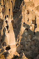 Cave houses in Cappadocia, Turkey