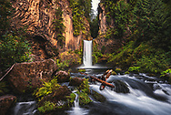 Toketee Falls at North Umpqua River, Oregon