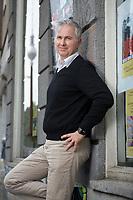 21 MAY 2012, BERLIN/GERMANY:<br /> Christophe F. Maire, Gruender / CEO txtr, Inhaber atlantic ventures, Investor und  Business Angel, Rosenthaler Str., Berlin-Mitte<br /> IMAGE: 20120521-02-064<br /> KEYWORDS: Christophe Maire