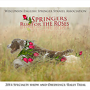 Graphic design artwork for WESSA Specialty Show. Campaign, Springers Run For The Roses.