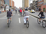 Ciclovia Bicycle Street Fair - Bogota -Colombia