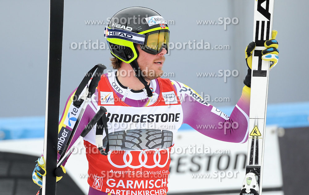27.02.2015, Kandahar, Garmisch Partenkirchen, GER, FIS Weltcup Ski Alpin, Abfahrt, Herren, 2. Training, im Bild Kjetil Jansrud of Norway // during the 2nd trainings run for the men's Downhill of the FIS Ski Alpine World Cup at the Kandahar in Garmisch Partenkirchen, Germany on 2015/02/27. EXPA Pictures © 2015, PhotoCredit: EXPA/ Erich Spiess