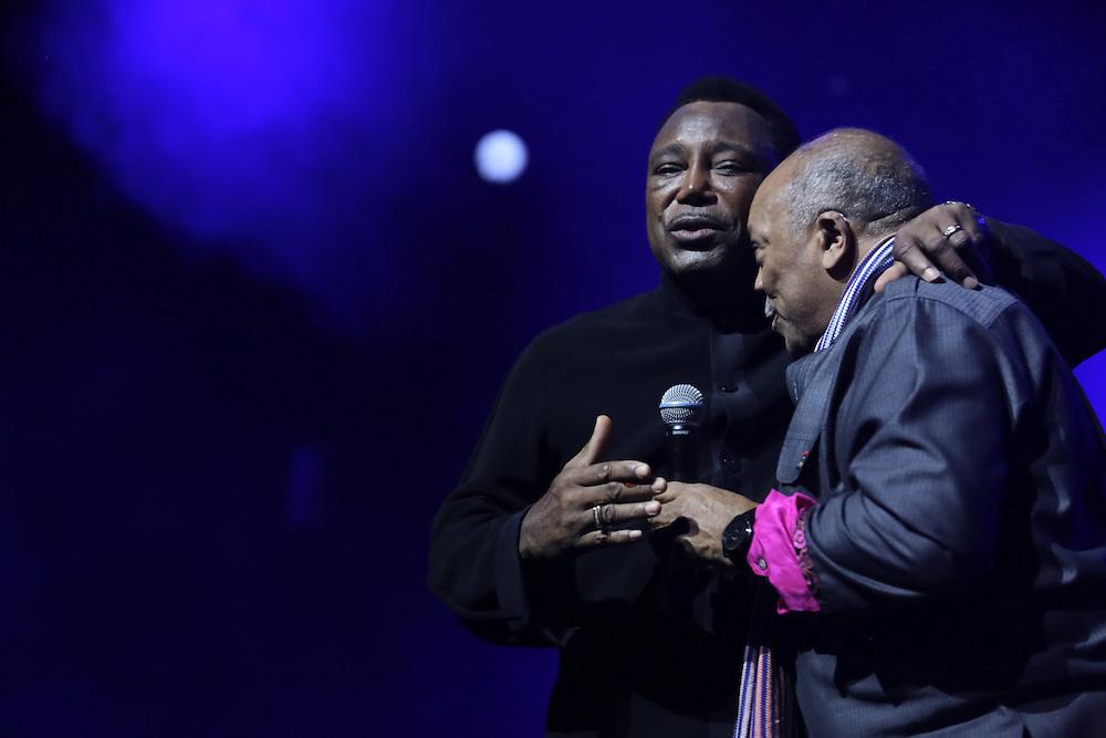 George Benson and Quincy Jones, 47th Montreux Jazz Festival, Switzerland - 18 Jul 2013