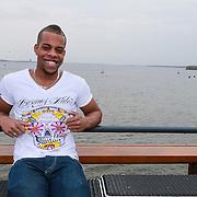 NLD/Naarden/20130502- Presentatie RTL Jokertje vrijgellenfeest, Ricardo Banel