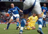 Photo: Ashley Pickering.<br />Ipswich Town v Sheffield Wednesday. Coca Cola Championship. 11/11/2006.<br />Ipswich's Matt Richards (L)