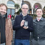 NLD/Amsterdam/20161213 - Musical Awards nominatielunch 2016, Victor Low, Owen Schumacher, Jeremy Baker