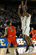 January 24, 2018 - Johnson City, Tennessee - Freedom Hall: ETSU guard Desonta Bradford (1)<br />