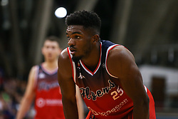 Marcus Delpeche of Bristol Flyers - Photo mandatory by-line: Arron Gent/JMP - 28/09/2019 - BASKETBALL - Crystal Palace National Sports Centre - London, England - London City Royals v Bristol Flyers - British Basketball League Cup