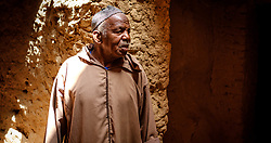 Portrait of a Berber man in a remote village in southern Morocco, North Africa<br /> <br /> (c) Andrew Wilson   Edinburgh Elite media