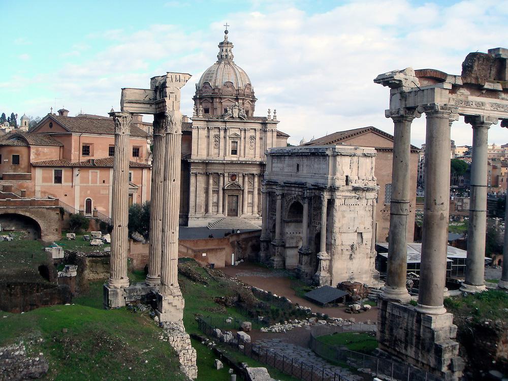 FORUM ROMANIUM,ROME ITALY