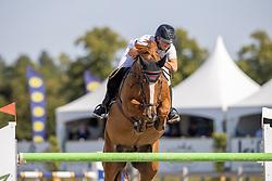 Van De Rijt Teddy, NED, Itcho van't Ruytershof<br /> Nederlands Kampioenschap Springen<br /> De Peelbergen - Kronenberg 2020<br /> © Hippo Foto - Dirk Caremans<br />  06/08/2020