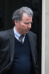 Downing Street, London, February 11th 2016. Chancellor of the Duchy of Lancaster and Policy Advisor Oliver Letwin  leaves the weekly cabinet meeting. <br /> ©Paul Davey<br /> FOR LICENCING CONTACT: Paul Davey +44 (0) 7966 016 296 paul@pauldaveycreative.co.uk