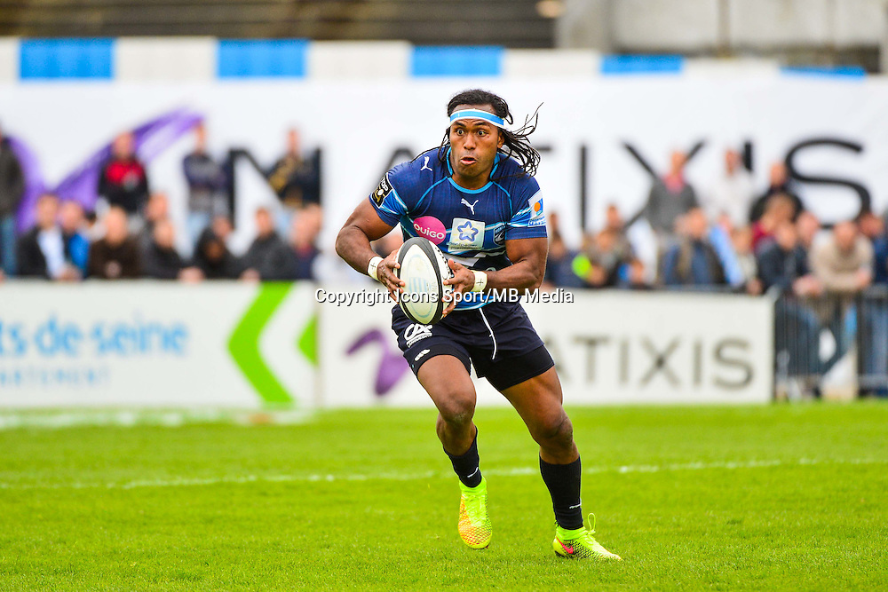 Albert VULIVULI  - 11.04.2015 - Racing Metro / Montpellier  - 22eme journee de Top 14 <br />
