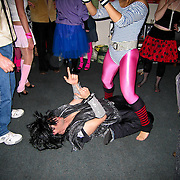 80's-themed house party, Christchurch, South Island, New Zealand. Photo by Jen Klewitz