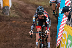 VERDONSCHOT Laura (BEL) during Women Elite race, 2019 UCI Cyclo-cross World Cup Heusden-Zolder, Belgium, 26 December 2019. <br /> <br /> Photo by Pim Nijland / PelotonPhotos.com <br /> <br /> All photos usage must carry mandatory copyright credit (Peloton Photos | Pim Nijland)