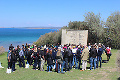 Turkey-File photos of Memorial destroyed by Turkish Government, Gallipoli