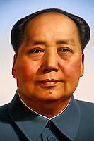 Portrait of Charman Mao, Tiananmen Gate (Gate of Heavenly Peace), Beijing, China