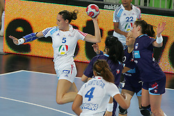 Ayglon Camille of France during handball match between National teams of Slovenia and France of 2011 Women's World Championship Play-off, on June 12, 2011 in Arena Stozice, Ljubljana, Slovenia. (Photo By Urban Urbanc / Sportida.com)