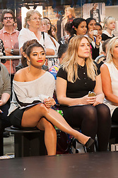 Vanessa White hosts a fashion show at The Peterborough Shopping Centre Queensgate