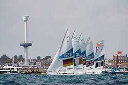 2012 Olympic Games London / Weymouth<br /> Star Medal Race<br /> Stanjek Robert, Kleen Frithjof, (GER, Star)<br /> O'Leary Peter, Burrows David, (IRL, Star)<br /> Scheidt Robert, Prada Bruno, (BRA, Star)<br /> Percy Iain, Simpson Andrew, (GBR, Star)<br /> Rohart Xavier, PONSOT Pierre-Alexis, (FRA, Star)