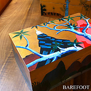 Painted boxes for BAREFOOT