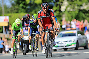 Break Away group - Break Away group - Amael Moinard (BMC) during the Stage 5 of the Tour of Britain 2016 from Aberdare to Bath, United Kingdom on 8 September 2016. Photo by Daniel Youngs.