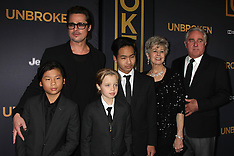 DEC 15 2014 Brad Pitt at the Unbroken premiere