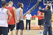 Descrizione : Berlino Eurobasket 2015 - Italia<br /> Giocatore : Simone Pianigiani Luigi Datome<br /> Categoria : Allenamento<br /> Squadra: Italy<br /> Evento : Eurobasket 2015<br /> Gara : Berlino Eurobasket 2015 - Allenamento<br /> Data: 05-09-2015<br /> Sport: Pallacanestro<br /> Autore: Agenzia Ciamillo-Castoria/I.Mancini<br /> Galleria : FIP Nazionale 2015<br /> Fotonotizia: Berlino Eurobasket 2015 - Allenamento