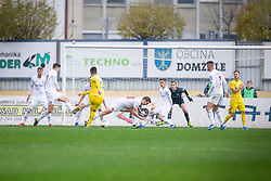 Arnel Jakupovic of Domzal during football match between NK Domzale and NK Triglav in Round #18 of Prva liga Telekom Slovenije 2019/20, on November 23, 2019 in Sports park Domzale, Slovenia. Photo by Sinisa Kanizaj / Sportida