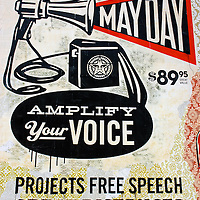 Shepard Fairey May Day mural