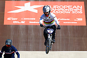 BMX Qualification, Sylvain Andre (France) during the Cycling European Championships Glasgow 2018, at Glasgow BMX Centre, in Glasgow, Great Britain, Day 9, on August 10, 2018 - Photo luca Bettini / BettiniPhoto / ProSportsImages / DPPI<br /> - Restriction / Netherlands out, Belgium out, Spain out, Italy out -