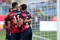 26.08.2017 - Genova- Serie A 2017/18 - 2a giornata  -  Genoa-Juventus nella  foto:  l'esultanza dei giocatori del Genoa