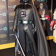 NLD/Amsterdam/20151215 - première van STAR WARS: The Force Awakens!, caracters uit de film, Darth Vader