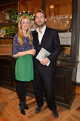 WILLOW CROSSLEY and CHARLIE CROSSLEY at a party to celebrate the publication of 'Inspire: The Art of Living With Nature' by Willow Crossley held at Anthropologie, 131-141 Kings Road, London on 13th March 2014.
