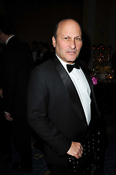 GERARD WERTHEIMER co-owner of Chanel at the Cartier Racing Awards 2009 held at Claridge's, Brook Street, London on 17th November 2009.