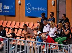 Supporters of Blaz Rola during ATP Challenger Zavarovalnica Sava Slovenia Open 2019, day 6, on August 14, 2019 in Sports centre, Portoroz/Portorose, Slovenia. Photo by Vid Ponikvar / Sportida